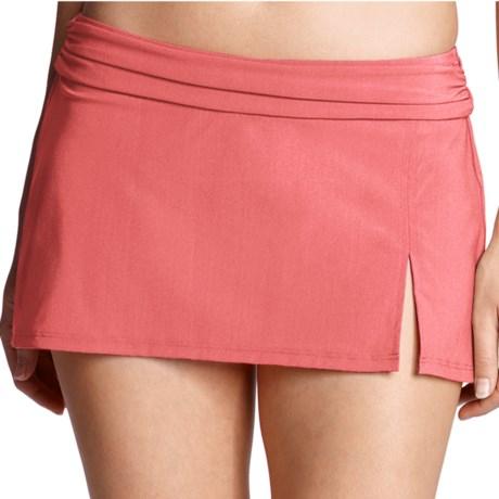 Lands' End Lela Beach Mini Skirt Swim Bottoms - Built-In Briefs (For Women)