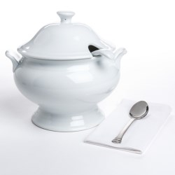 BIA Cordon Bleu Classic Soup Tureen Set - Porcelain, 3-Piece