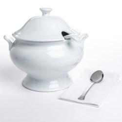 BIA Cordon Bleu Classic Soup Tureen Set - Porcelain, 3-Piece