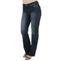 Ethyl Embellished Back Pocket Jeans - Bootcut (For Women)