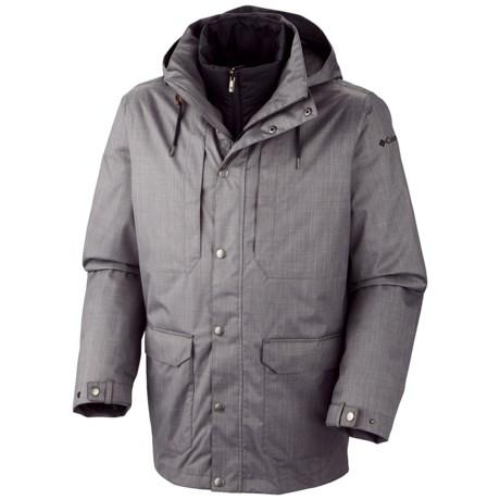 Columbia Sportswear Horizons Pine Interchange Omni-Heat® Jacket - 3-in-1, Waterproof, Insulated (For Men)