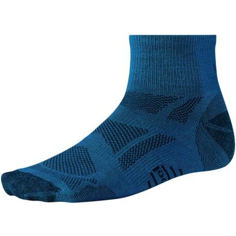 SmartWool Outdoor Sport Ultralight Mini Socks - Merino Wool, Quarter Crew  (For Men and Women)