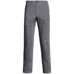 Straight-Leg Twill Pants (For Men)