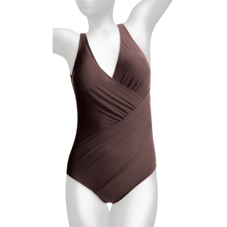 Miraclesuit Oceanus One-Piece Swimsuit - Solid (For Women)