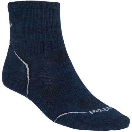 SmartWool PhD V2 Multisport Mini Socks - Merino Wool, Quarter Crew (For Men)