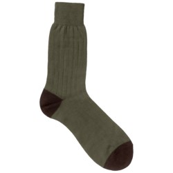 Pantherella Casual Crew Socks - Merino Wool Blend (For Men)