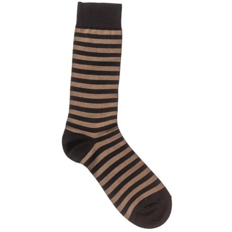 Pantherella Crew Dress Socks - Cotton Blend (For Men)