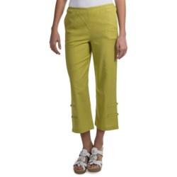 Nomadic Traders NTCO Kyoto Linen Crop Pants (For Women)