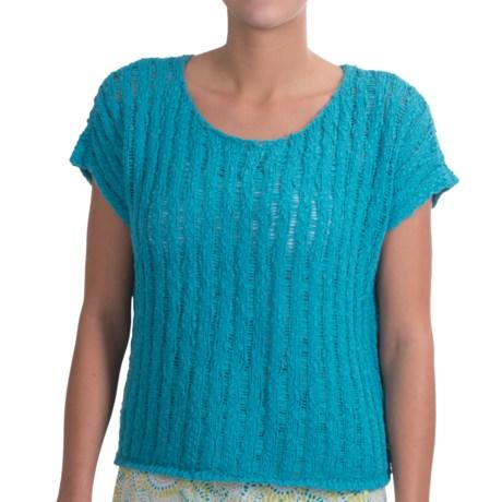 NTCO Tape Yarn Ryco Sweater Shirt - Short Sleeve (For Women)