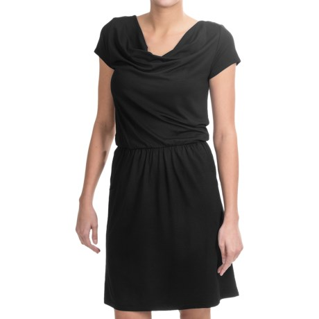 Nomadic Traders NTCO Rendezvous Olivia Dress - Stretch Jersey, Short Sleeve (For Women)
