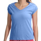 Nomadic Traders NTCO Buena Vista Pima Cotton Shirt - Ruched Short Sleeve (For Women)
