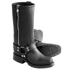 """Double H Harness Boots - 11"""", Side Zip, 181 Toe (For Women)"""