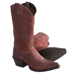 """Sonora Riley Cowboy Boots - 12"""", Snip Toe (For Women)"""