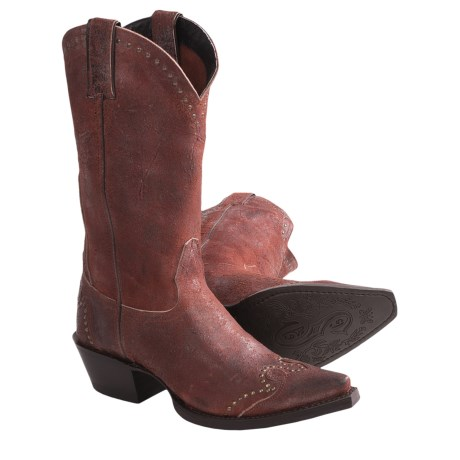 "Sonora Riley Cowboy Boots - 12"", Snip Toe (For Women)"