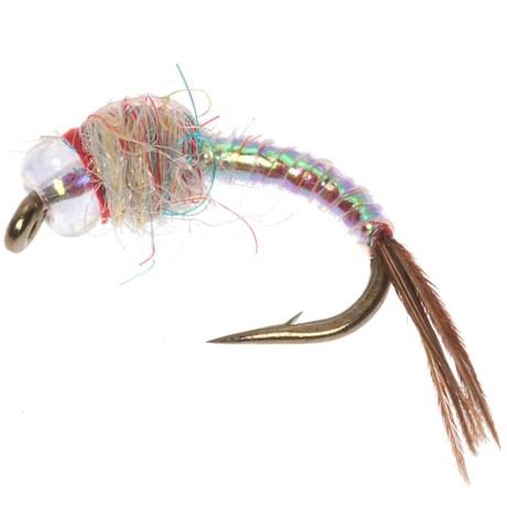 Black's Flies Rainbow Warrior Nymph Fly - Dozen