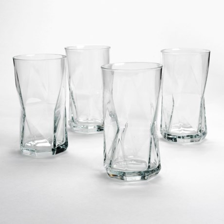 Bormioli Rocco Cassiopea Cooler Glasses - Set of 4