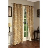 """Thermalogic Weathermate Hanover Floral Curtains - 160x84"""", Grommet-Top, Insulated"""