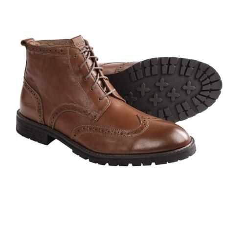 Florsheim Gaffney Wingtip Boots (For Men)