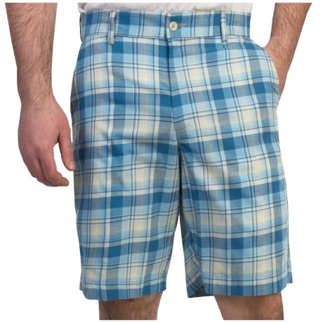 Bills Khakis Madras Plaid Shorts (For Men)