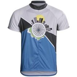 Primal Wear Ride 365 Cycling Jersey - Zip Neck, Short Sleeve (For Men)