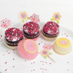 Two's Company Happi by Dena Cupcake Party Kit - 48-Piece Set