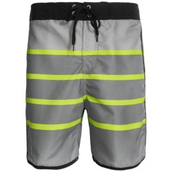Zonal Swim Trunks - Built-In Shorts (For Men)