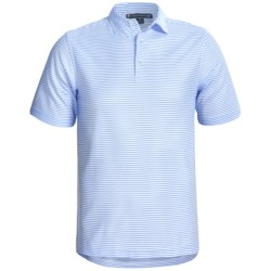 Chase Edward Chase Stripe High-Performance Polo Shirt - Short Sleeve (For Men)