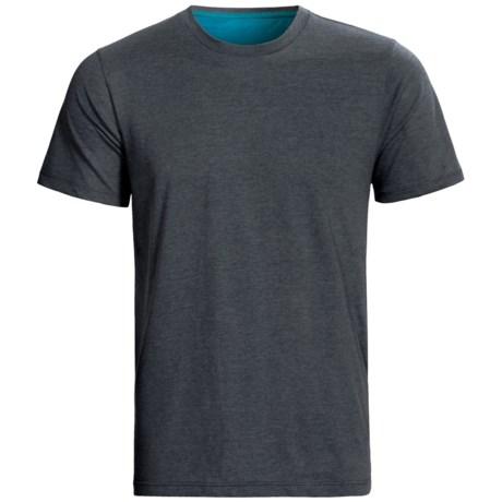Pact Organic Cotton T-Shirt - Crew Neck, Short Sleeve (For Men)