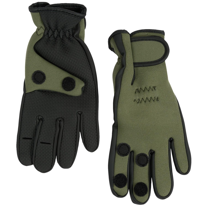 jacob ash hot shot neoprene fishing gloves 6625d