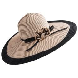 Callanan Woven Wide-Brim Hat (For Women)
