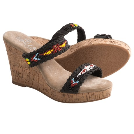 Sbicca Karson Wedge Sandals (For Women)