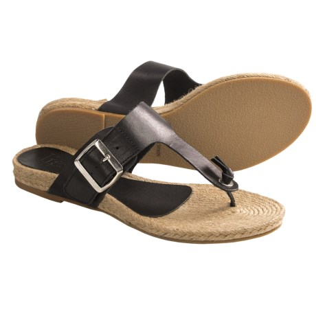 Lisa B. and Co. Knotted Espadrille Sandals - Leather (For Women)
