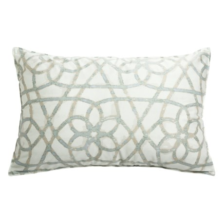 Barbara Barry Dream Printed Sanctuary Scroll Pillow Sham - Queen, 250 TC Cotton Sateen