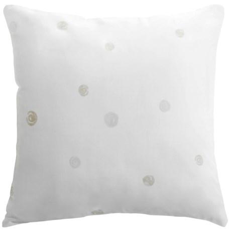 "Barbara Barry Dream Nautilus Printed Accent Pillow - 16x16"", 300 TC Cotton"