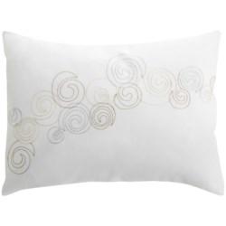 "Barbara Barry Dream Nautilus Conch Boudoir Accent Pillow - 12x16"", 300 TC Cotton Sateen"