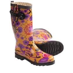 Chooka Kaleidoscope Garden Rubber Rain Boots (For Women)