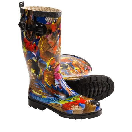 Chooka Tropical Paradise Rubber Rain Boots (For Women)