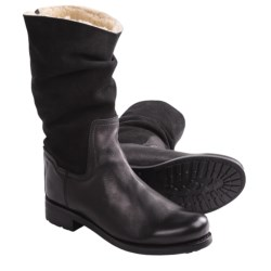Blackstone CW98 Slouch Boots - Shearling Lined (For Women)