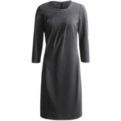 Lafayette 148 New York Punto Milano Dress - 3/4 Sleeve (For Women)