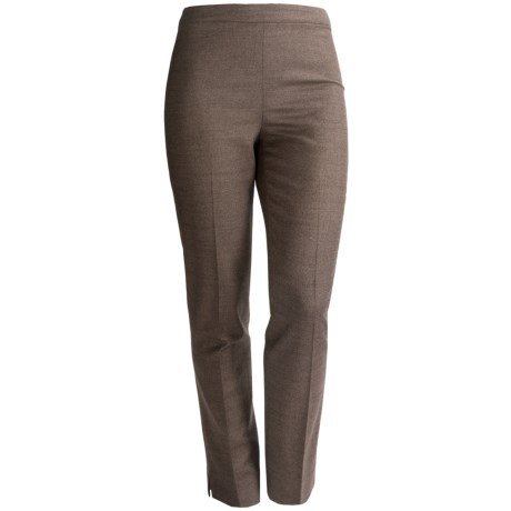 Lafayette 148 New York Bleeker Poised Suiting Pants - Stretch Wool Blend, Tapered Leg (For Women)