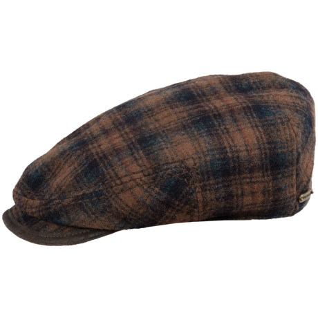 Stetson Bandera Wool Plaid Cap (For Men)