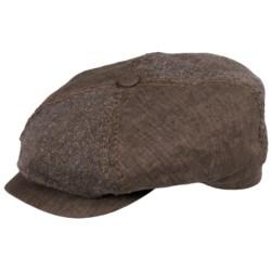 Stetson Harvanton Linen Quarter Cap - Lined (For Men)
