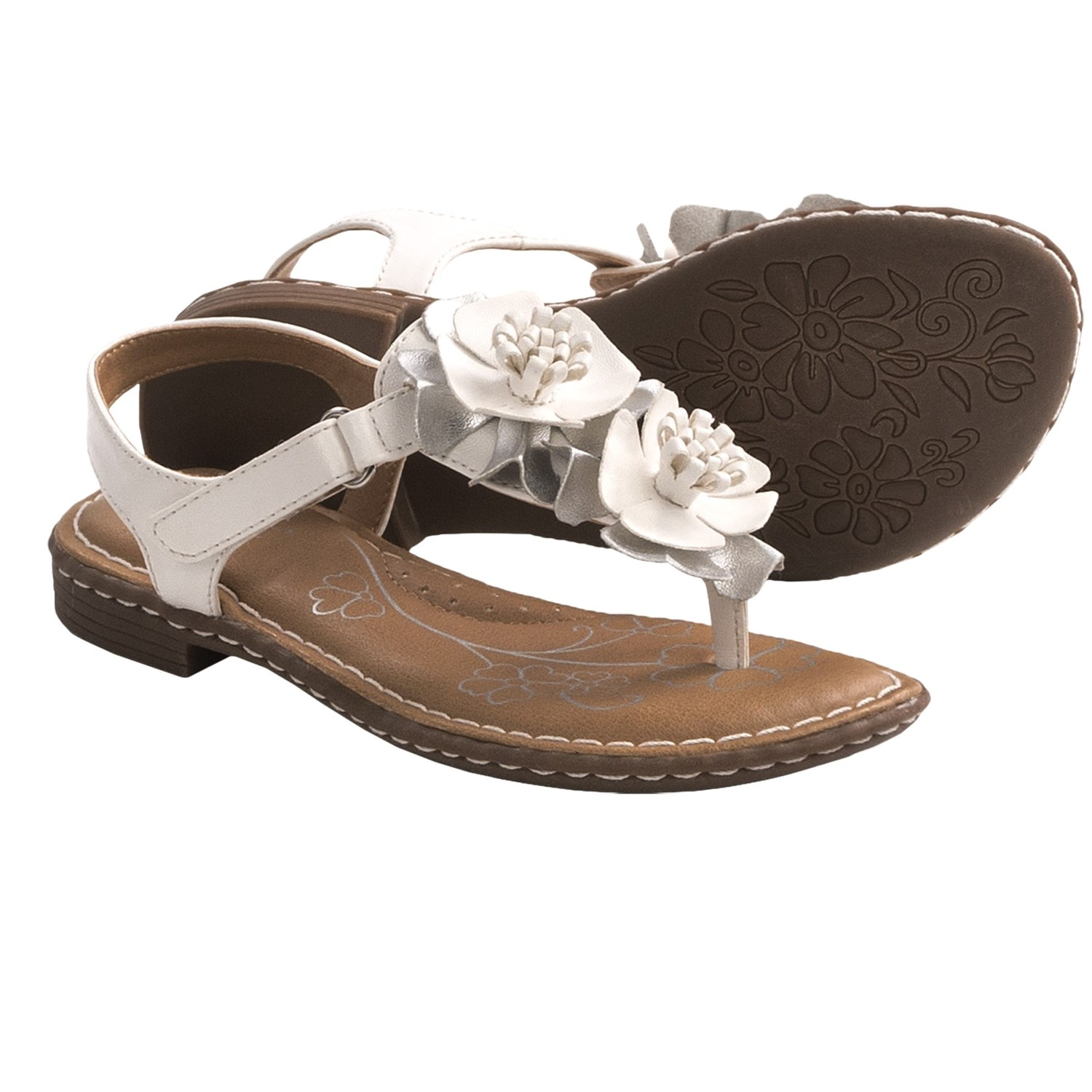 B.O.C. by Born Kristi Floral Sandals (For Girls) - Save 29