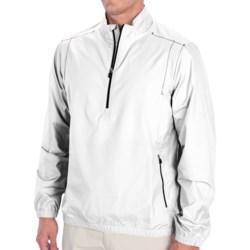 adidas golf ClimaProof® Wind Jacket - Zip Neck, Long Sleeve (For Men)