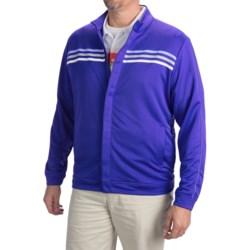 Adidas Golf ClimaLite® 3-Stripe Terry Jacket (For Men)