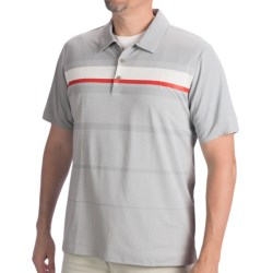 Adidas Golf Adizero Printed Stripe Polo Shirt - Short Sleeve (For Men)
