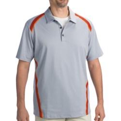 Adidas Golf ClimaCool® Pique Angular Taped Polo Shirt - Short Sleeve (For Men)