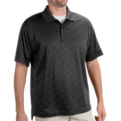 Adidas Golf ClimaCool® Diagonal Textured Polo Shirt - Short Sleeve (For Men)