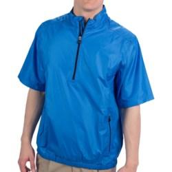 Adidas Golf ClimaProof Wind Jacket - Zip Neck, Short Sleeve (For Men)