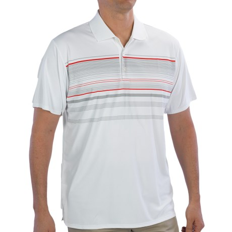 Adidas Golf ClimaCool® Multi-Stripe Polo Shirt - Short Sleeve (For Men)